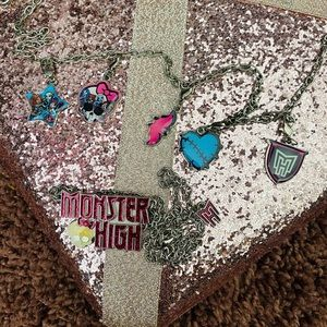 Monster High Necklace & Bracelet